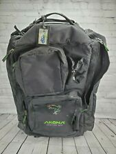Akona Adventure Gear Scuba Dive Diving Bag Backpack Rolling