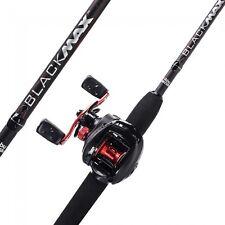 NEW Abu Garcia Black Max Fishing Rod & Fishing Reel Combo - 1376703