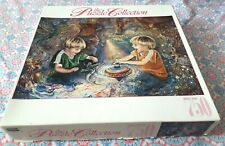 RoseArt The Puzzle Collection Magic Spinning Top 750 Piece Puzzle Rare
