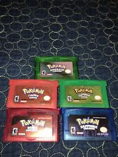 Pokemon GBA Games for Gameboy Advance GBA/SP and Nintendo DS/DS Lite 🇨🇦🇨🇦