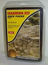 Woodland Scenics LK951 - Rock Faces (Learning Kit) - New.
