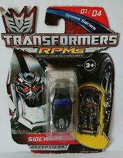 Hasbro Transformers RPMS Speed Series Decepicon Sideways New Sealed