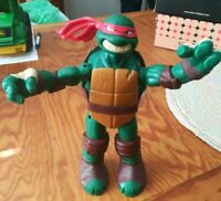 "PLAYMATES VIACOM Raphael Teenage Mutant Ninja Turtle 10"" Figure 2012 TMNT."