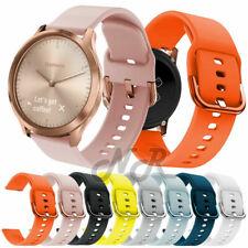 Replacement Silicone Watch Band For Garmin Vivoactive 3 Vivomove HR 645 Music