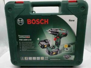 Bosch Koffer für Bosch Akku-Bohrschrauber PSR 1800 LI-2 PSR 18 ohne Inhalt NEU: