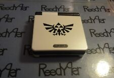 White & Black Zelda GameBoy Advance SP *MINT* AGS-001 Custom Nintendo system gba