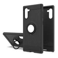 For Samsung Galaxy Note 10 Plus Case Ring Holder Shockproof Armor Stand Cover