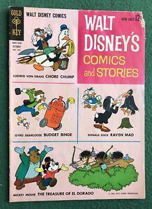 Walt Disney's Comics and Stories #265 Gold Key Comics Silver Age g/vg