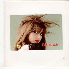 (EM554) Fallulah, I Lay My Head - DJ CD