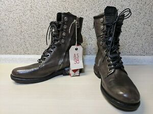 AS98 Biker Boots Leather 35