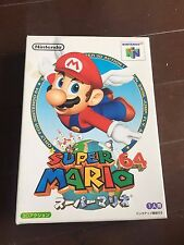 Nintendo 64 N64 Super Mario 64 Boxed japan ver20