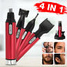 4-in-1 Electric Hair Trimmers Clipper Nose Eyebrow Ear Beard Sideburn Shaver Kit