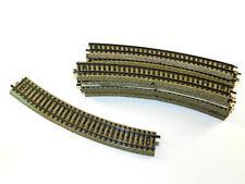 Märklin Schienen/Gleise - 10 Stück 5200 1/1 gebogene Gleise Spur H0