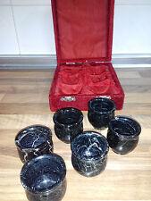 Vasos de Chupito de Mármol Negro Regalo decoración originales