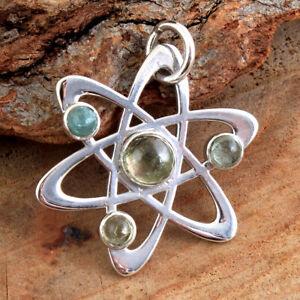 Tourmaline Gemstone 925 Solid Sterling Silver HANDMADE Fine Jewelry Pendant