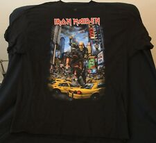 Iron Maiden Concert EVENT Shirt from NY-NJMaiden England Tour 2012 New 3xl