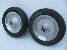 "Set Pair Harley Davidson Softail Fat Boy Wheels 16"" x 3.00"" Front & Rear"