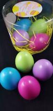 EASTER - 8 x Reusable Fillable Eggs plus free 38 x paper party hats