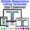 eBay Listing Template Mobile Responsive Design HTML Professional Auction 2020
