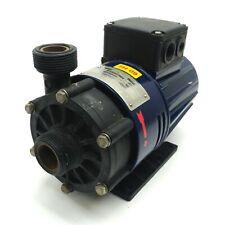 Sondermann RM-PP-8/80-30 Magnetic Drive Pump 8m Head 80l/min Ø3 230/400VAC 60Hz