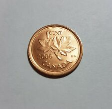 Canada 1 Cent 2006 Non Magnetic No Logo