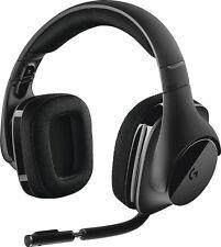 Logitech - G533 ELITE Wireless Over-the-Ear Headphones - Black