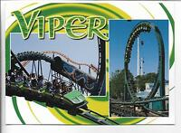 THE VIPER ROLLER COASTER,ASTROWORLD,TX~SIX FLAGS AMUSEMENT PARK~5X7""