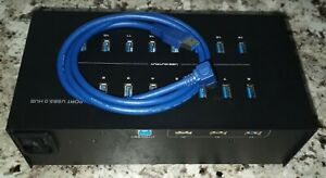 Eyeboot 19 Port 40A USB 3.0 Hub   200W - 40 Amp - 5V   2 amps per port