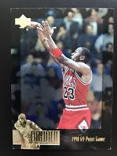1995-96 Collectors Choice Michael Jordan Collection JC14 1990 69 Point Game