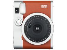 Cámara instantánea - Fujifilm Instax Mini 90 Neo Classic, Marrón