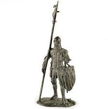 France Militiaman 1370y Tin toy soldiers 54mm miniature figurine metal sculpture