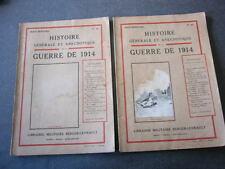 HISTOIRE GENERALE ET ANECDOTIQUE DE LA GUERRE DE 1914  N° 63 et 64  Jean Bernard