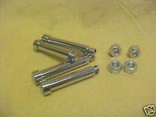 Harley,Sportster,78-81 new chrome caliper bolts set,78-81 XL based models