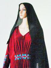 Womens Caftan Kaftan Dubai Jersey Abaya Colour Embroidery Long Maxi Dress Hijab
