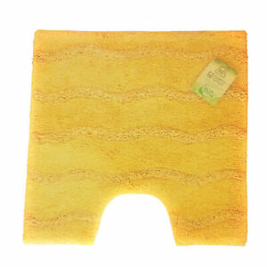 Medina Mimosa Yellow 55x55 Cm. Rug With Ausschnitt.100% Organic Cotton