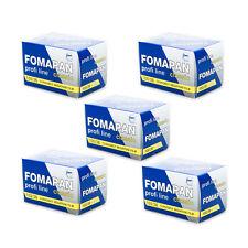 5 Rolls x FOMAPAN 100 Profi Line Classic 135 35mm 36exp Black & White Film FOMA