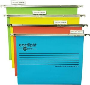 Eastlight Premium Filing Cabinet A4 Suspension Files with Tabs and Inserts