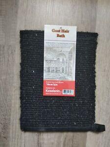 Handwoven Turkish Bath Hammam Peeling Glove Natural Mitt Kese Scrub Goat Hair