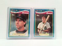 UNCIRCULATED Topps Toys R Us Rookies 1988 Mike Henneman + Matt Nokes TIGERS