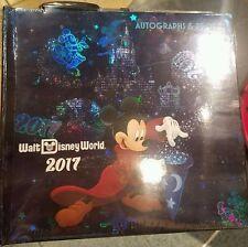 2017 Walt Disney World Autograph Book Sorcerer Mickey And Friends