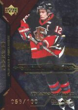 2000-01 Black Diamond Hockey Gold #66 Tyler Bouck 056/100 Prince George