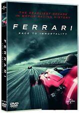 FERRARI: RACE TO IMMORTALITY (2017):  DVD - Motor Racing Documentary - NEW UK