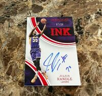 Julius Randle 2015-16 Panini Immaculate Ink On-Card Ruby Auto /25 #IK-JRA