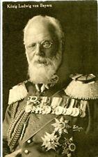uralte AK, König Ludwig von Bayern, Wohlfahrtskarte
