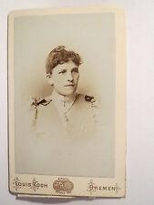 Bremen - Frau im Kleid - Portrait / CDV