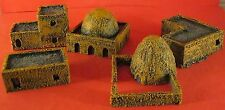 1/200th (10mm) Scale Generic Desert Village Set (5 Buildings Code VDS10)