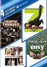 4 Film Favorites: Ben Stiller Tropic Thunder, Zoolander, The Heartbreak Kid, En