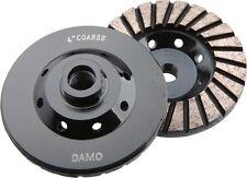 "4"" Diamond Turbo Grinding Cup Wheel Coarse for Concrete / Granite Floor"