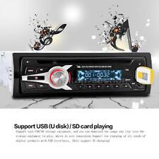 Universal Auto Car Stereo Radio CD DVD VCD MP3 Player FM Aux Input SD/USB E7Y9