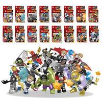 16 Set Assemble Marvel Super Heroes Avengers 3 Infinity War Thanos Figure Model